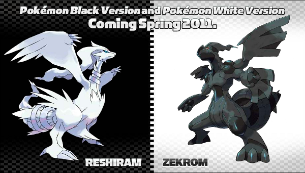 Pokemon Black & White Legendaries
