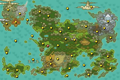 Pokemon Mystery Dungeon Dungeon Listing
