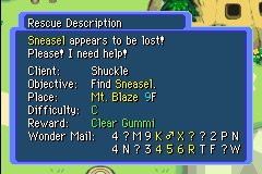 Mini Guia em Mystery Dungeon Clear_Gummi