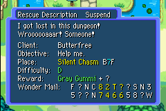 Mini Guia em Mystery Dungeon Gray_Gummi
