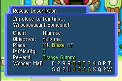 Mini Guia em Mystery Dungeon Orange_Gummi