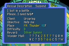 Mini Guia em Mystery Dungeon Silver_Gummi