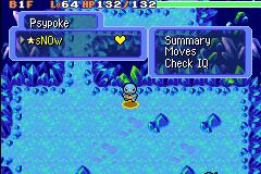 Mini Guia em Mystery Dungeon Menu