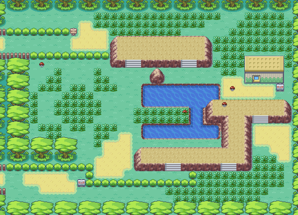 Pokemon FireRed and LeafGreen :: Game Maps