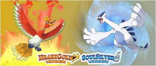 Pokemon HeartGold and Pokemon SoulSilver