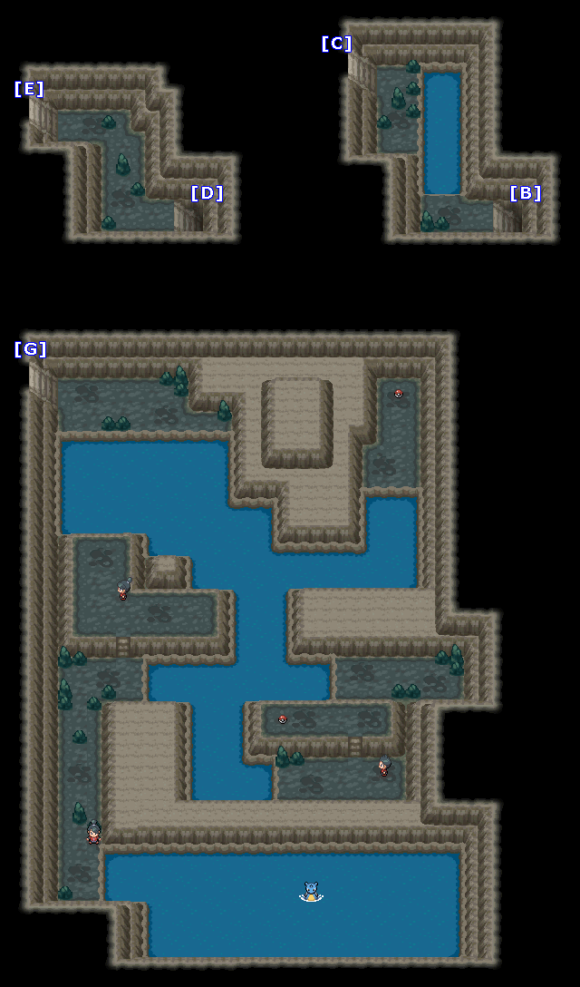 Pokemon HeartGold and SoulSilver  Game Maps