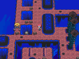 Pokemon platinum full walkthrough when the elevator stops moving head up and use strength on the boulder and drop it into the hole next to where uxie is floating gumiabroncs Gallery