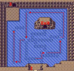 Pokemon Ruby And Sapphire Map Of Seafloor Cavern