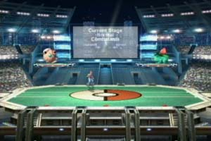 Brawl introduces a new  lengthy Adventure Mode called The Subspace    Pokemon Stadium Background