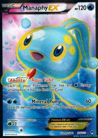 Manaphy EX (Full Art) (BREAKpoint: 116/122)