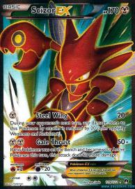 Scizor EX (Full Art) (BREAKpoint: 119/122)