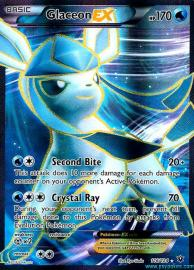 Glaceon EX (Full Art) (Fates Collide: 116/124)