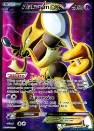 Alakazam EX (Full Art) (Fates Collide: 117/124)