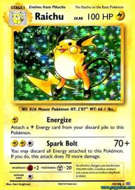 Raichu (Evolutions: 36/108)