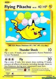 Flying Pikachu (Evolutions: 110/108)
