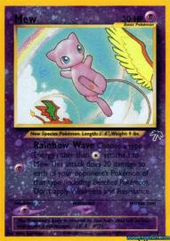 Mew (Southern Islands Collection: 1/18)