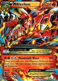 Blaziken EX (XY Promos: XY86)