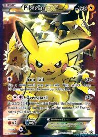 Pikachu EX (Full Art) (XY Promos: XY124)