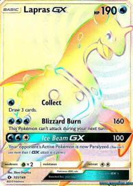 Lapras GX (Rainbow Full Art) (Sun & Moon: 151/149)