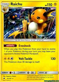 Raichu (Burning Shadows: 41/147)