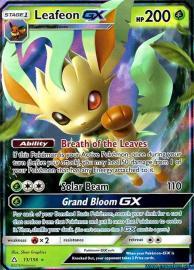 Leafeon GX (Ultra Prism: 13/156)