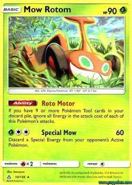 Mow Rotom (Ultra Prism: 14/156)