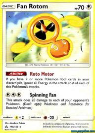 Fan Rotom (Ultra Prism: 110/156)