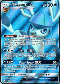 Glaceon GX (Full Art) (Ultra Prism: 141/156)
