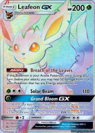 Leafeon GX (Rainbow Full Art) (Ultra Prism: 157/156)