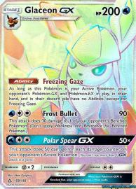 Glaceon GX (Rainbow Full Art) (Ultra Prism: 159/156)