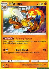 Infernape (Forbidden Light: 59/131)