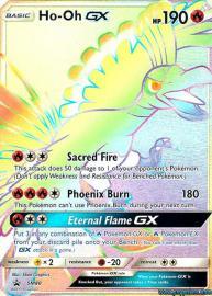 Ho-oh GX (Rainbow Full Art) (SM Promos: SM80)