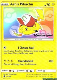 Ash's Pikachu (SM Promos: SM108)