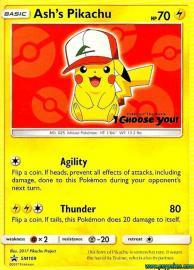 Ash's Pikachu (SM Promos: SM109)