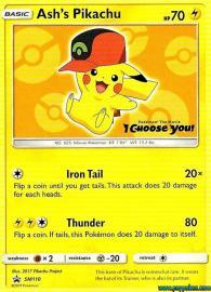 Ash's Pikachu (SM Promos: SM110)