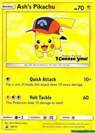Ash's Pikachu (SM Promos: SM111)