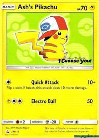 Ash's Pikachu (SM Promos: SM112)