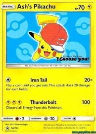 Ash's Pikachu (SM Promos: SM114)