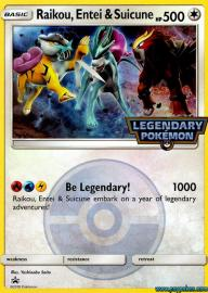 Raikou, Entei and Suicune (SM Promos: -)