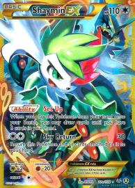 Shaymin EX (Full Art) (Alternate A Promos: 77a/108)
