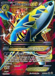 Sharpedo EX (Full Art) (Alternate A Promos: XY200a)
