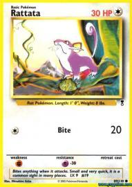Rattata (Legendary Collection: 89/110)
