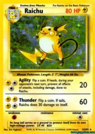 Raichu (Base Set: 14/102)