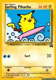 Surfing Pikachu (Pokemon Web: 25/48)
