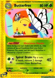 Butterfree (Expedition Base Set: 38/165)