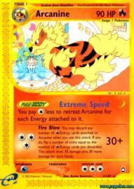 Arcanine (Aquapolis: H2/H32)