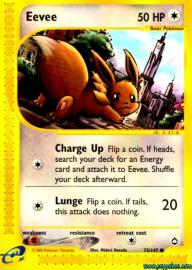 Eevee (Aquapolis: 75/147)