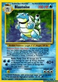 Blastoise (Base Set: 2/102)
