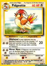 Pidgeotto (Base Set: 22/102)