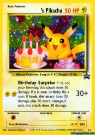 ___________'s Pikachu (Wizards of the Coast Promos: 24)